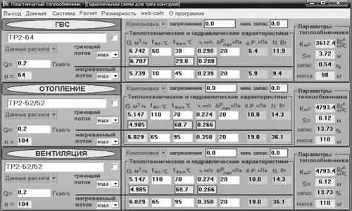 Прога расчёт пластинчатого теплообменника теплопередача в теплообменнике формула