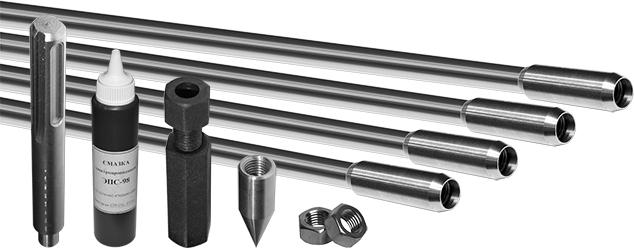 Модульно-штыревая система заземления из нержавеющей стали